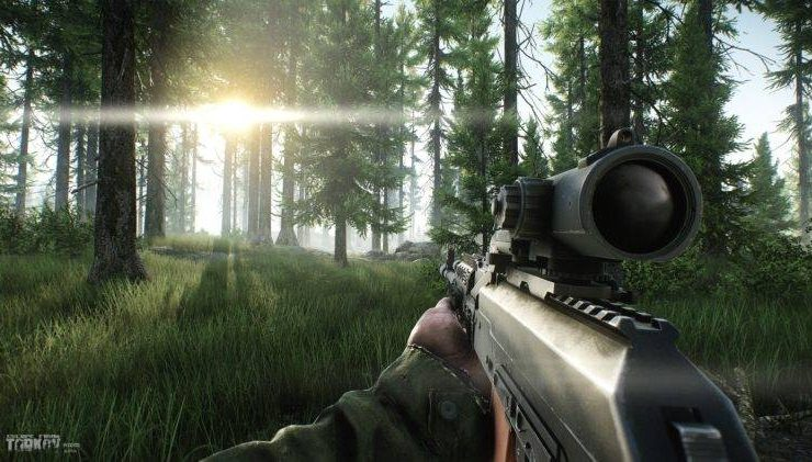 eft woods map guide