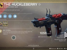 Huckleberry Catalyst Destiny 2