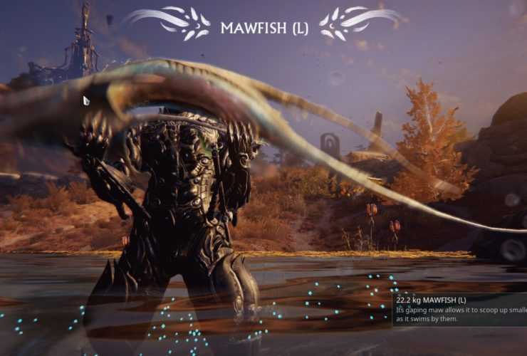warframe fishing Beginner guide