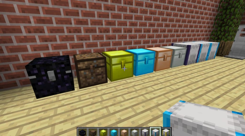 iron chest is a popular mod for minecraft