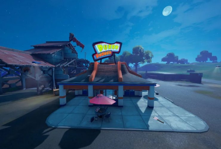 Where are Durr Burger and Durr Burger Food truck
