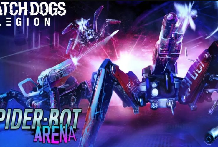 how to unlock spider bot arena in watch dogs: legion