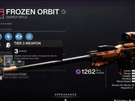 How to Get Frozen Orbit in Destiny 2